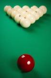 Spielen der Billiarde Lizenzfreies Stockbild
