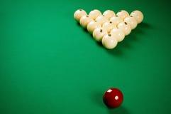 Spielen der Billiarde Lizenzfreie Stockfotografie