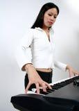 Spielen der Tastaturen Lizenzfreies Stockbild