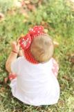 Spielen des Babys Stockbild