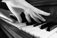 Spielen des Klaviers Lizenzfreies Stockbild