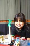 Spielen des kleinen Mädchens Lizenzfreie Stockbilder
