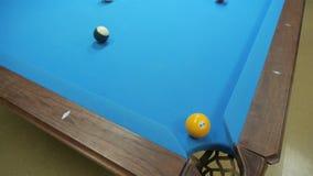Spielen des Pools