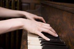 Spielen einer Melodie. Stockbild