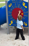 Spielen im Park Lizenzfreie Stockbilder