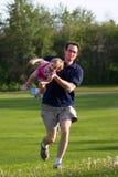Spielen am Park Lizenzfreies Stockbild