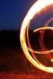 Spielen Sie mit Feuer Lizenzfreie Stockbilder
