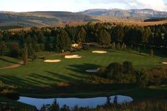 Spielen Sie Rücksortierung Golf lizenzfreies stockbild