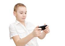 Spielen, Spiel laufend Stockfoto