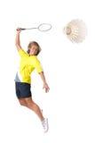 Spielen von Badminton Lizenzfreies Stockbild