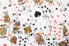 Spielen von cards_05 stockfoto