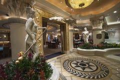 Spielende Halle des Caesars Palacehotels Stockfotos