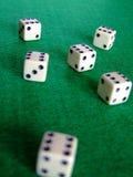 Spielende Würfel 03 Stockfotos
