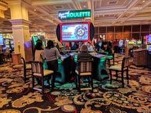 Spielendes Kasino Stockfotos