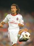 Spieler Andrea-Pirlo von AC Mailand Lizenzfreies Stockfoto
