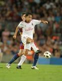 Spieler Filippo-Inzaghi von AC Mailand Lizenzfreies Stockfoto