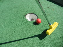 Spieler-Golfplatz Sun- Citygary Lizenzfreie Stockfotografie