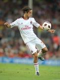 Spieler Luca-Antonini von AC Mailand Lizenzfreie Stockbilder