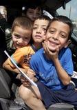 Spielerische der Irak-Kinder Lizenzfreie Stockfotos