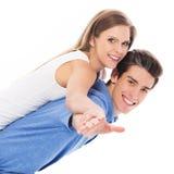 Spielerische junge Paare Lizenzfreie Stockfotografie