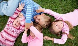 Spielerische Kinder Lizenzfreies Stockbild