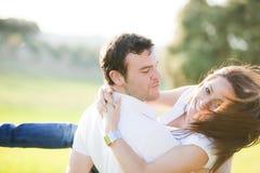 Spielerische Paare stockbild
