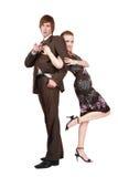 Spielerische Paare Lizenzfreie Stockbilder