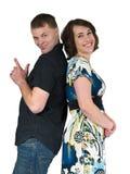 Spielerische Paare Lizenzfreie Stockfotografie