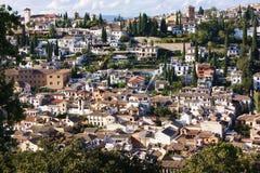 Spielerisches Granada, Spanien Stockbild