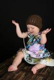 Spielerisches Kleinkind Lizenzfreie Stockfotografie