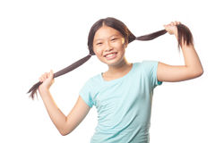 Spielerisches Mädchen Lizenzfreies Stockfoto