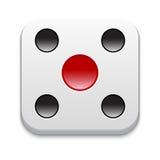 Spielikone. Vektor-Illustration Lizenzfreie Stockfotos