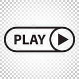 Spielikonenvektor Spielvideoillustration in der flachen Art einfach Lizenzfreie Stockbilder