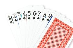 Spielkarte Stockfotografie