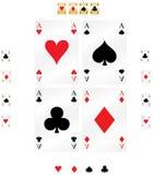 Spielkarte Stockfotos