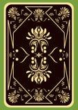 Spielkarte. Stockfoto