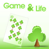 Spielkarte Lizenzfreies Stockfoto