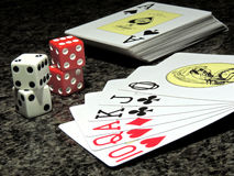 Spielkarte Barajas Stockfoto