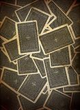 Spielkarte-Hintergrund-Auslegung Stockfotos