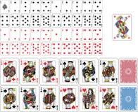 Spielkarte-volle Plattform Lizenzfreies Stockfoto