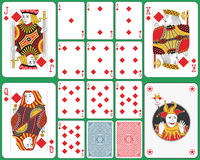 Spielkarteclubklage stock abbildung