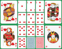 Spielkarteclubklage Stockfoto