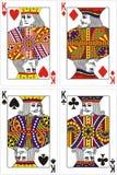 Spielkartekönig   Lizenzfreies Stockbild