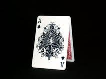 Spielkarten 01 Stockbild