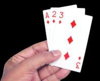 Spielkarten Stockfoto