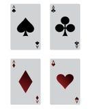 Spielkarten Lizenzfreies Stockbild