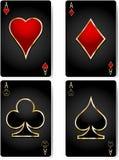Spielkarten vektor abbildung