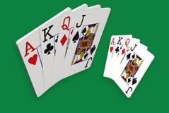 Spielkarten 3D Stockfotos