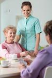 Spielkarten der Pensionäre Lizenzfreies Stockbild