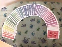 Spielkarten des Spektrums Lizenzfreie Stockfotos